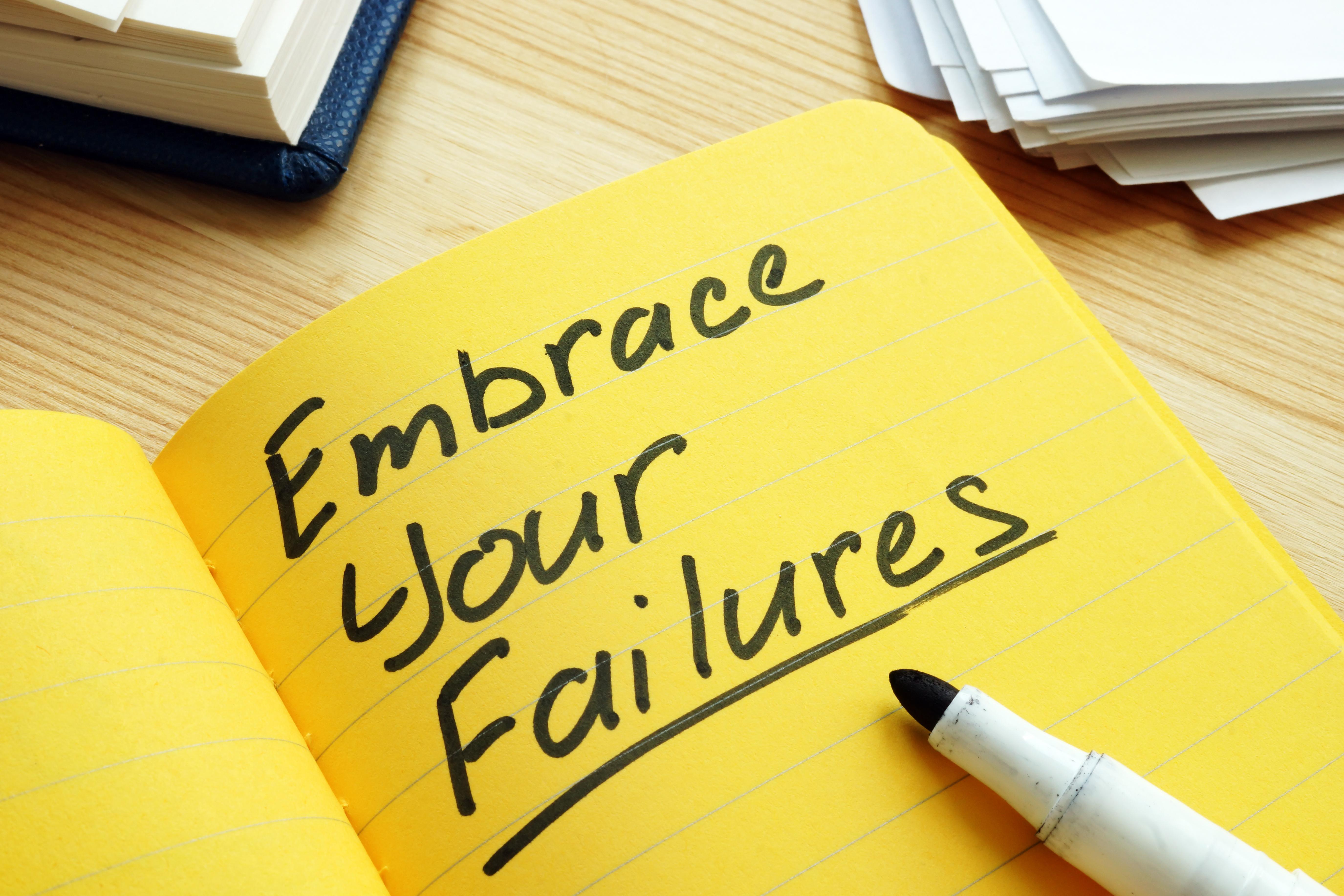 30102019 Embrace Your Failure